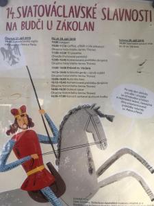 Budeč - projekt sv. Václav