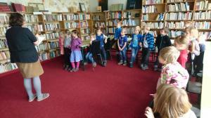 Návštěva knihovny 1.11.2017